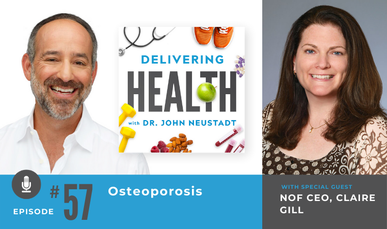 57. Osteoporosis with NOF CEO, Claire Gill
